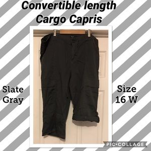 Pants - Convertible length carpenter Capris